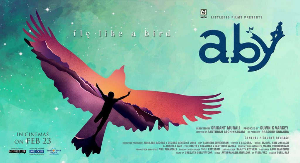 aby malayalam movie poster