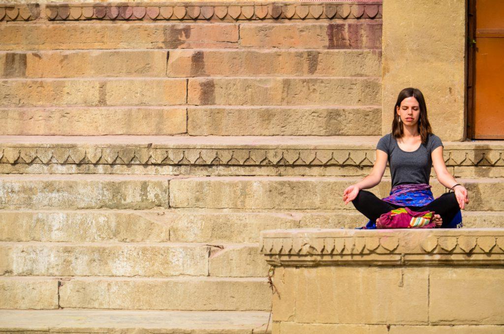 Yoga on the Varanasi Ghats