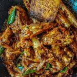 Kerala Cuisine: Thirontharam Njandu Dry Fry