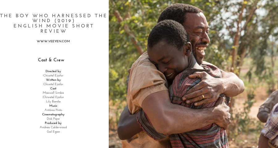 The Boy who Harnessed the Wind English Movie Short Review